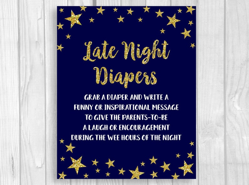6f4d979e77cb Twinkle Twinkle Little Star Printable 5x7 or 8x10 Late Night | Etsy