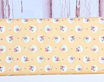 Rhapsody Parquet Yellow Yardage  by Sedef Imer for Riley Blake Designs