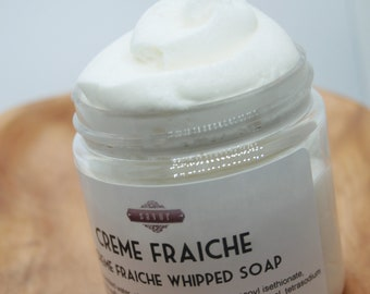 Whipped Soap by Savor - Creme Fraiche - Custom Scent and Size