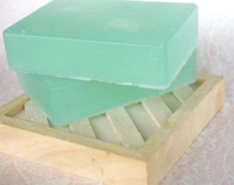 Olive Oil Bar Soap Vegan Cucumber Mint