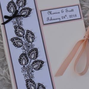 Personalized Wedding Photo Album Mother Of The Bride And Groom Etsy