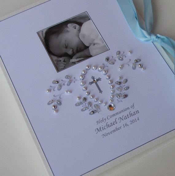 Dedication Baby Photo Gift Personalized Baby Frame 5 x 7 Picture Baptism