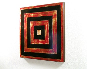 Refined Rustic Wall Sculpture.