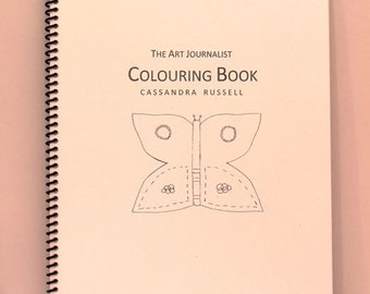 The Art Journalist Colouring Book