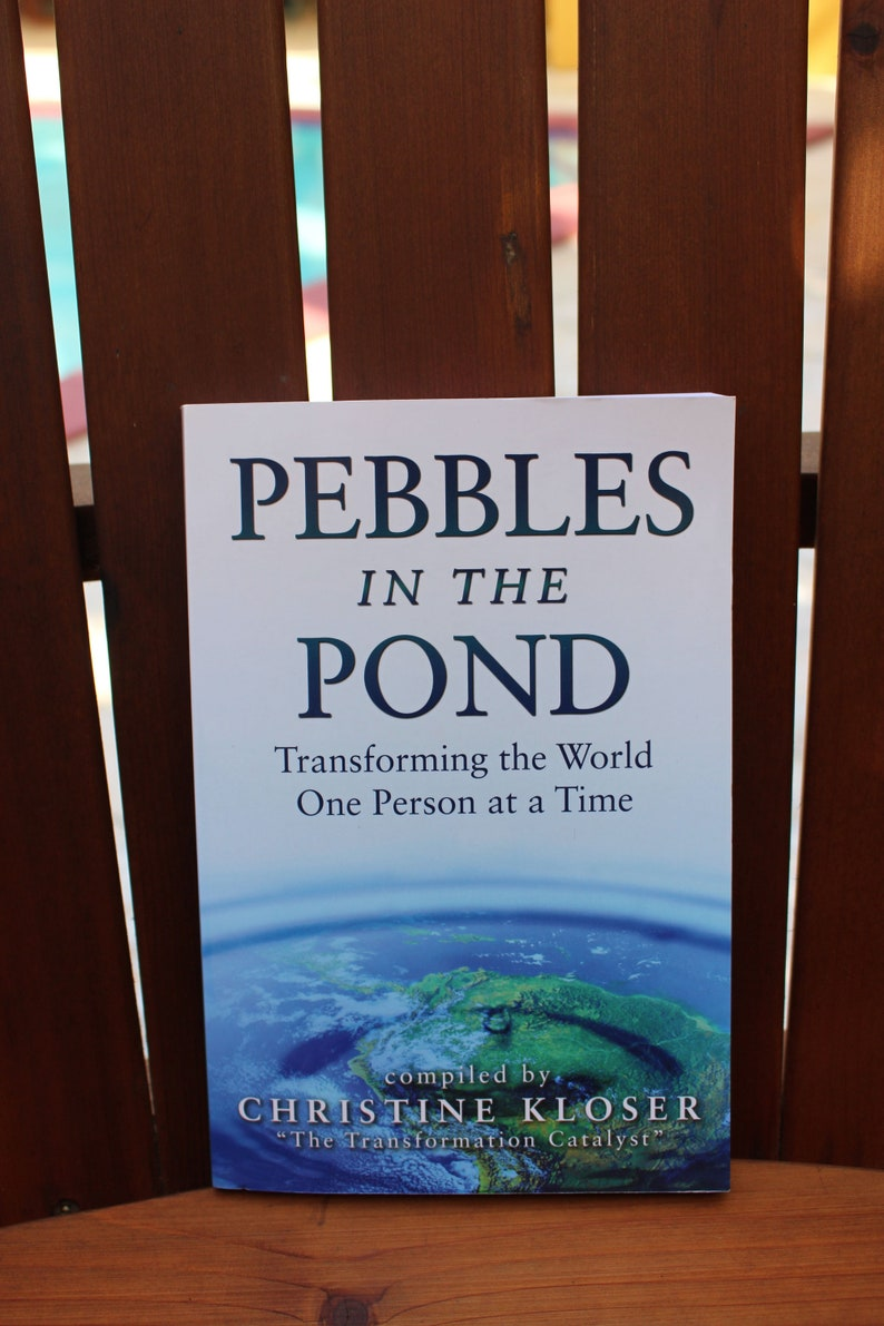Pebbles In The Pond With Author Cassandra Russell image 0