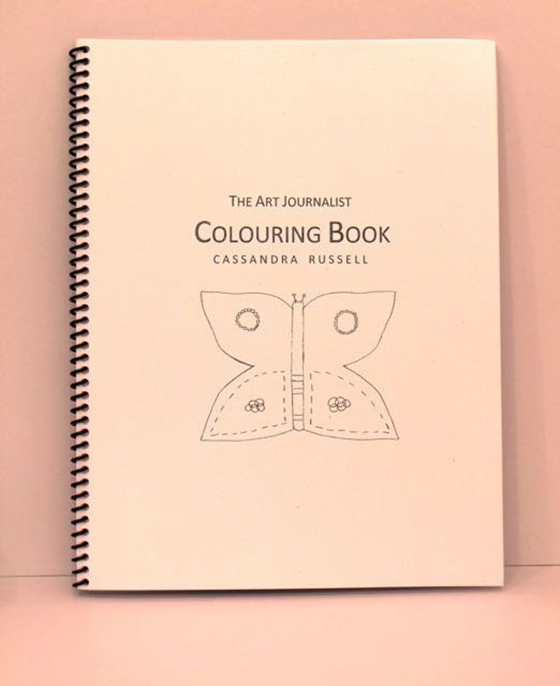 The Art Journalist Colouring Book image 0