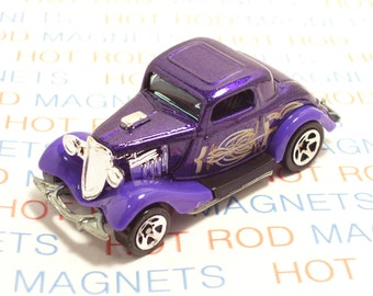 1958 Chevy Truck Refrigerator Tool Box  Magnet