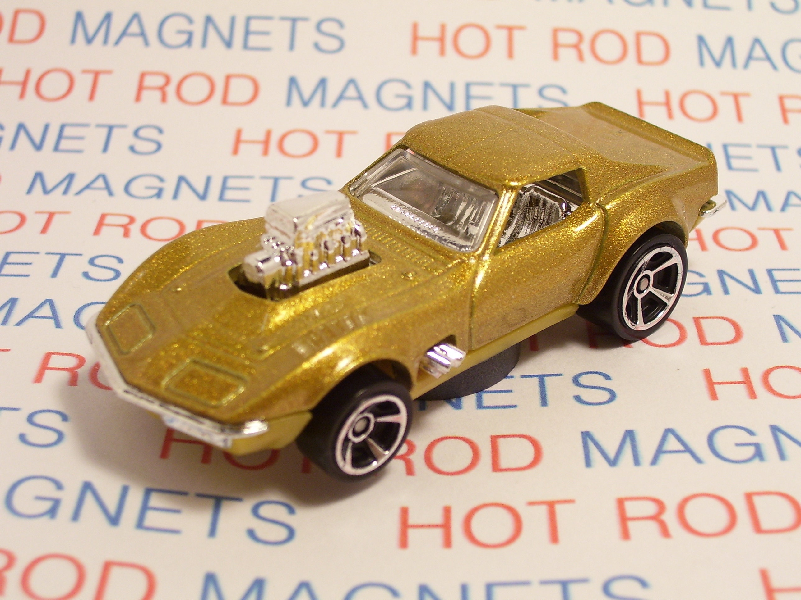 Hot Rod Magnet 1968 Chevrolet Chevy Corvette Gas Monkey