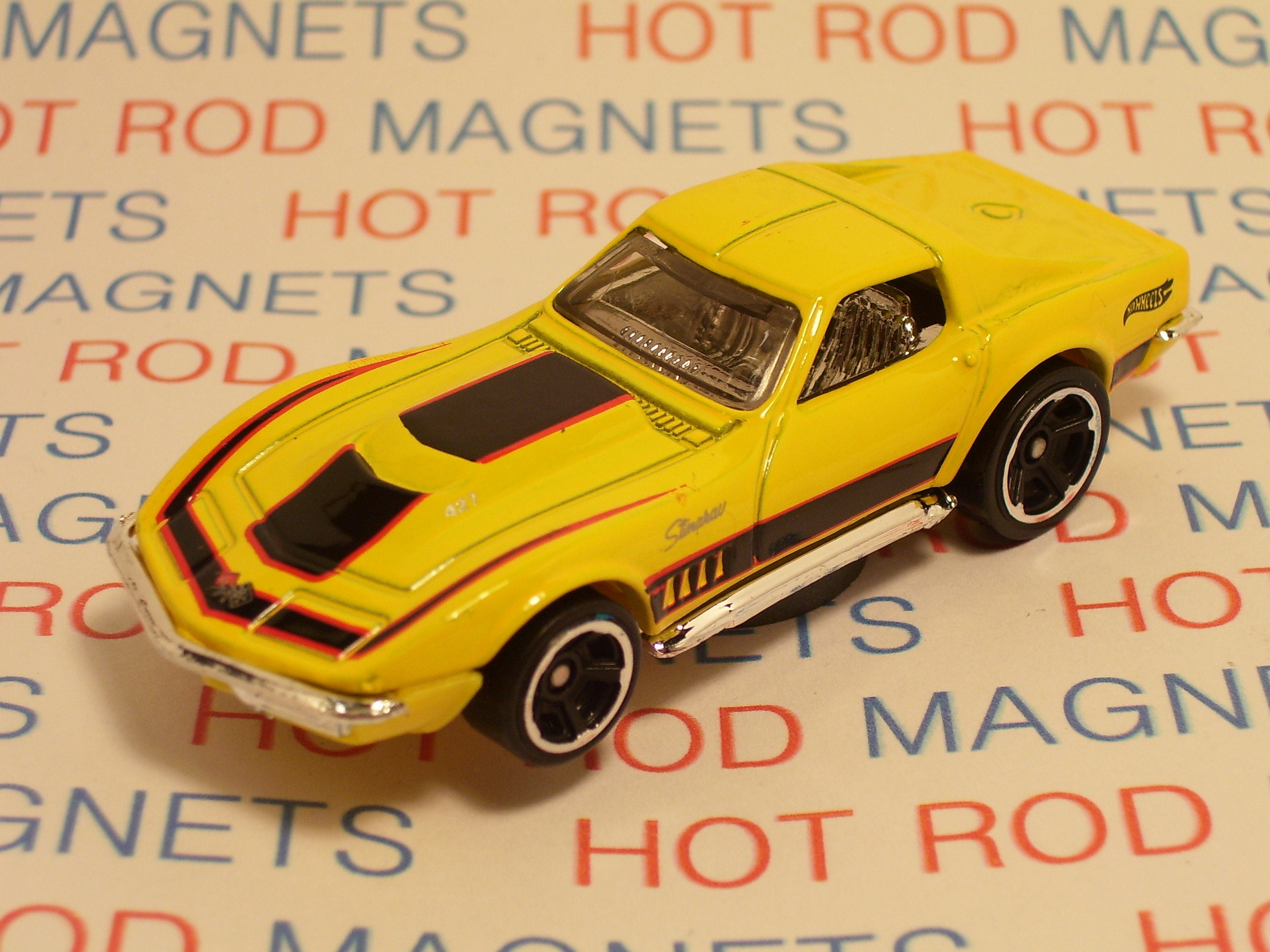 Hot Rod Magnet 1969 Chevrolet Corvette Stingray Man Cave
