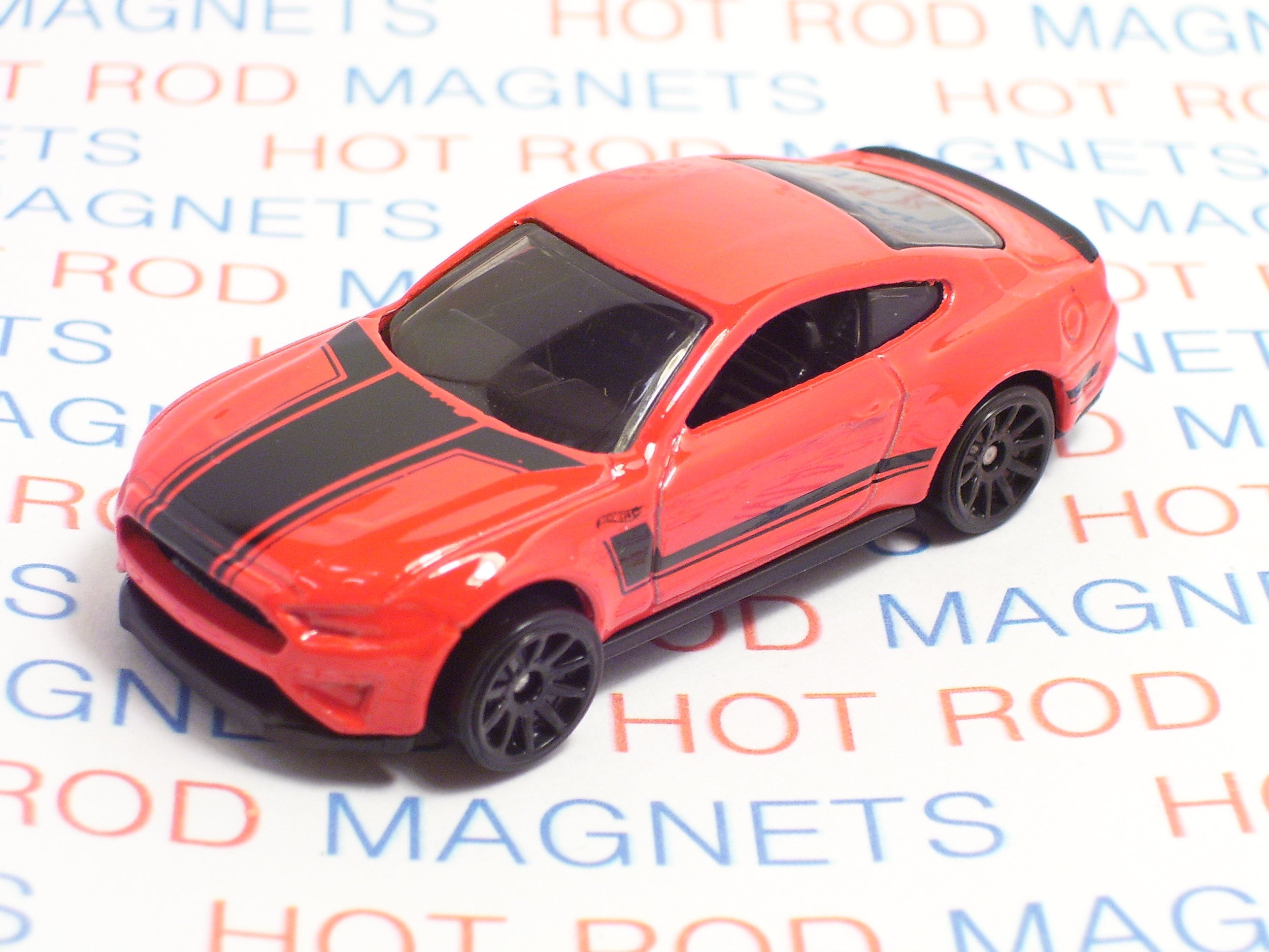 Hot Rod Magnet 2018 Ford Mustang GT Hot Rod Refrigerator
