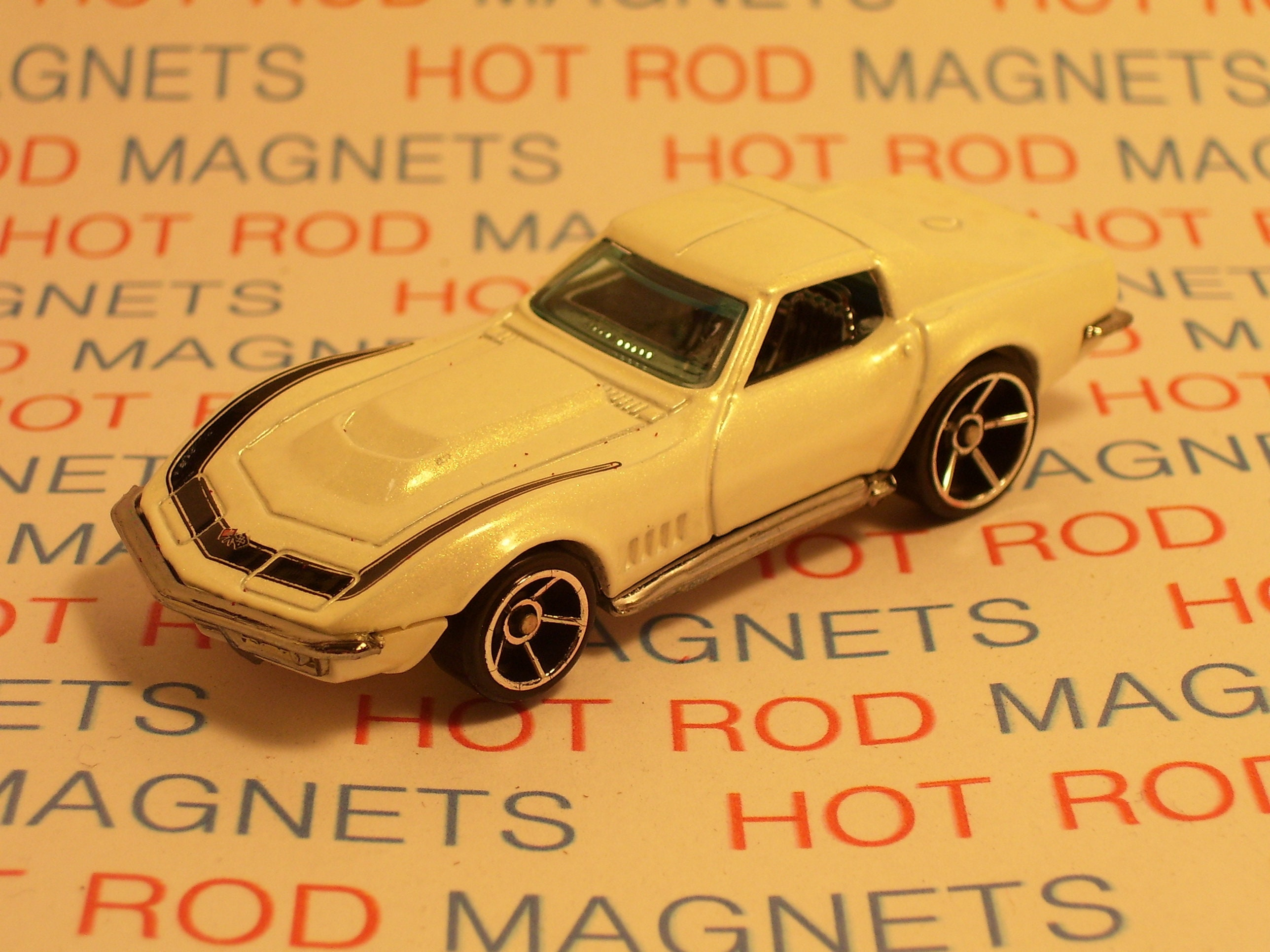 Hot Rod Magnet 1969 Chevrolet Corvette Man Cave