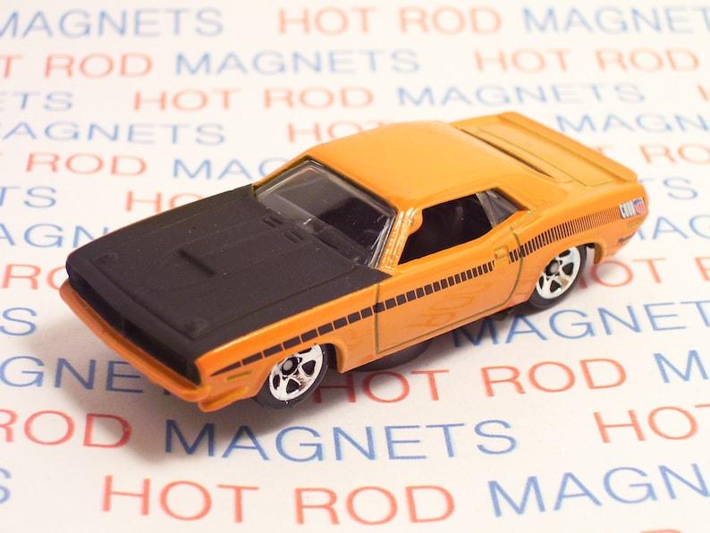 Tool Box Magnet 1969 Plymouth Barracuda  Auto Refrigerator