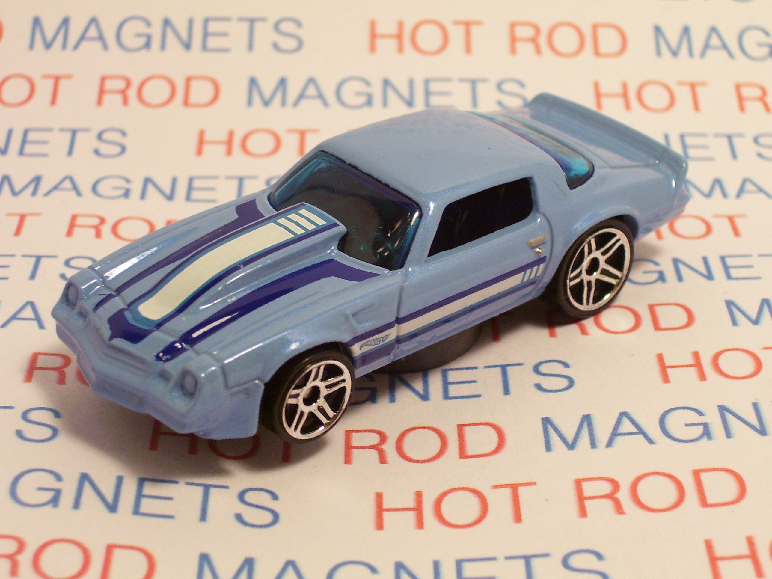 Hot Rod Magnet 1981 Chevrolet Camaro Hot Rod
