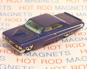 Hot Rod Magnet - 1964 Ford Galaxie 500 : Hot Rod, Refrigerator, Toolbox, Man Cave, Magnet