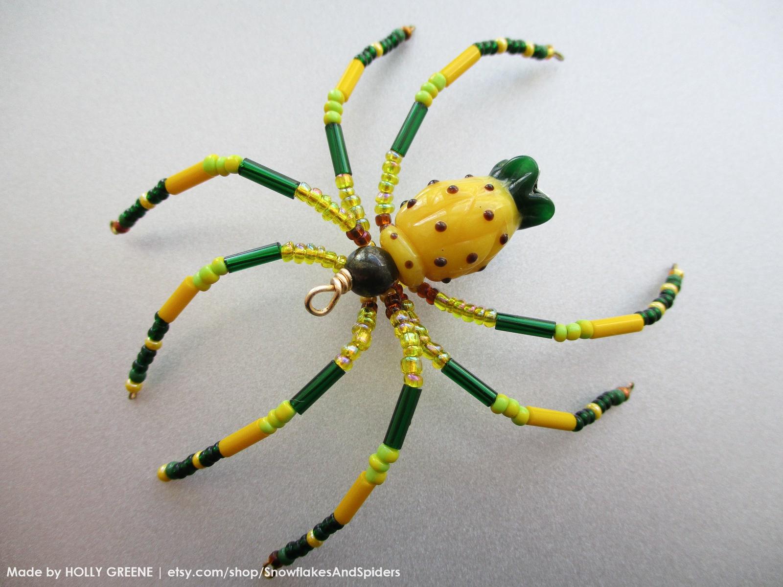Hawaiian Ananas Lampwork Weihnachten Spider Hawaii State | Etsy