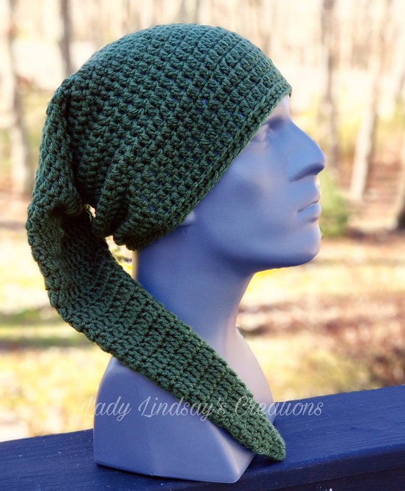 Link of Legend of Zelda inspired beanie slouchie slouch hat image 0