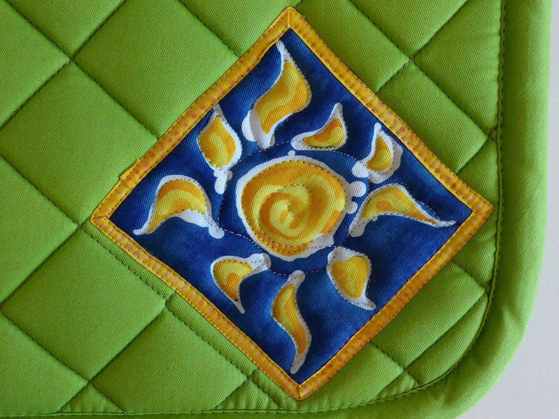 All Purpose Saddlepad Green so your horse doesnt have to be image 0