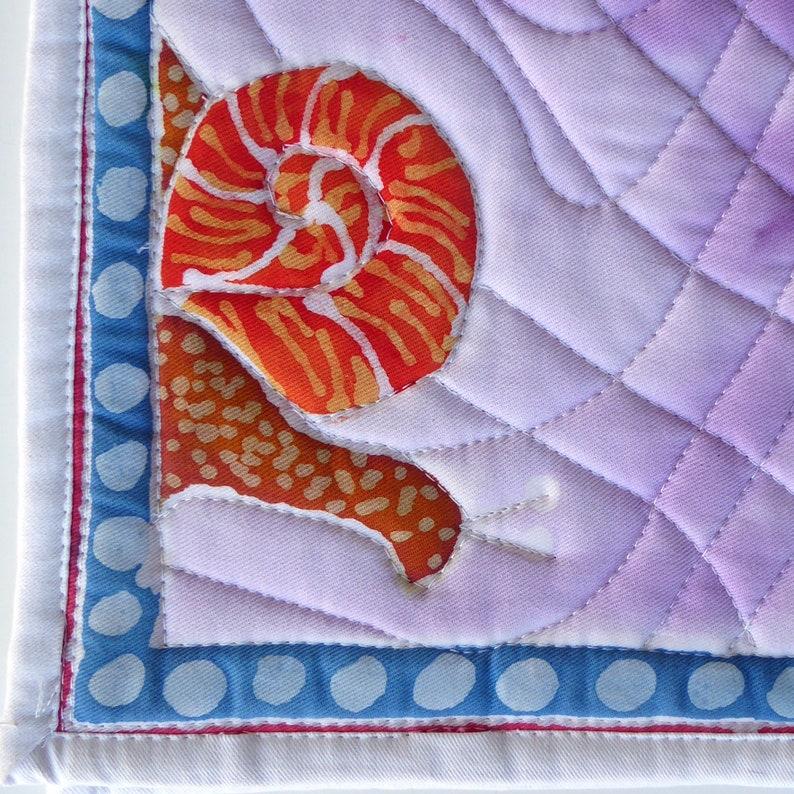 English Dressage Saddle Pad Creeping Violet image 0