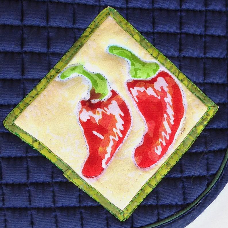 Pony Saddle Pad for English Saddles in Navy Blue HP-86 image 0