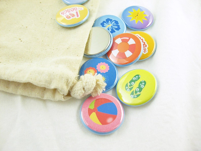 Beach Time Match Game - toy and games for children, matching game, sun,  sandals, beach ball, rainbow, flowers 1262