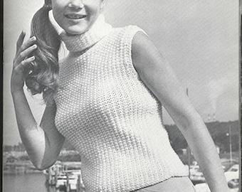 Vintage Pullover Knit Shell - PDF