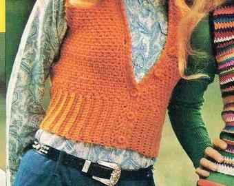 Crochet SHRINK top pattern - PDF