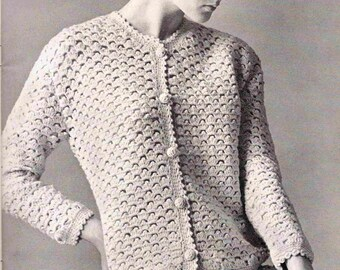 Crochet Pattern - Skirt Suit