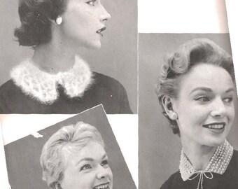 Women's Angora Collar (TOP) (BernGif)- Pattern  - PDF