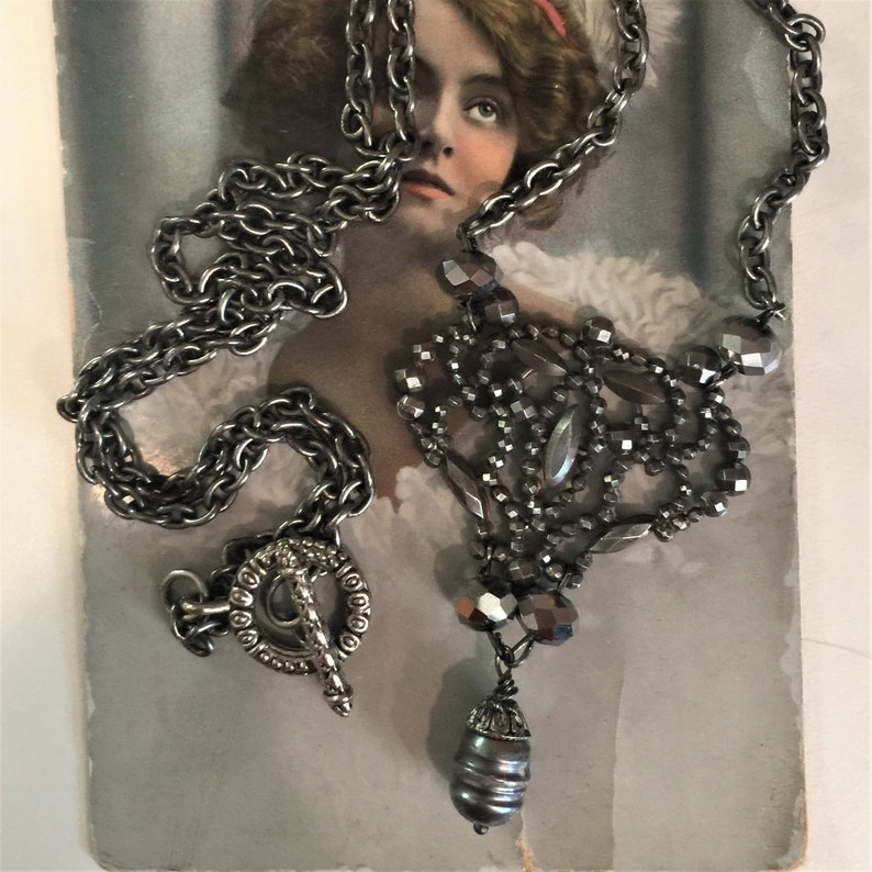 Antique Georgian Victorian French Cut Steel OOAK Assemblage image 0