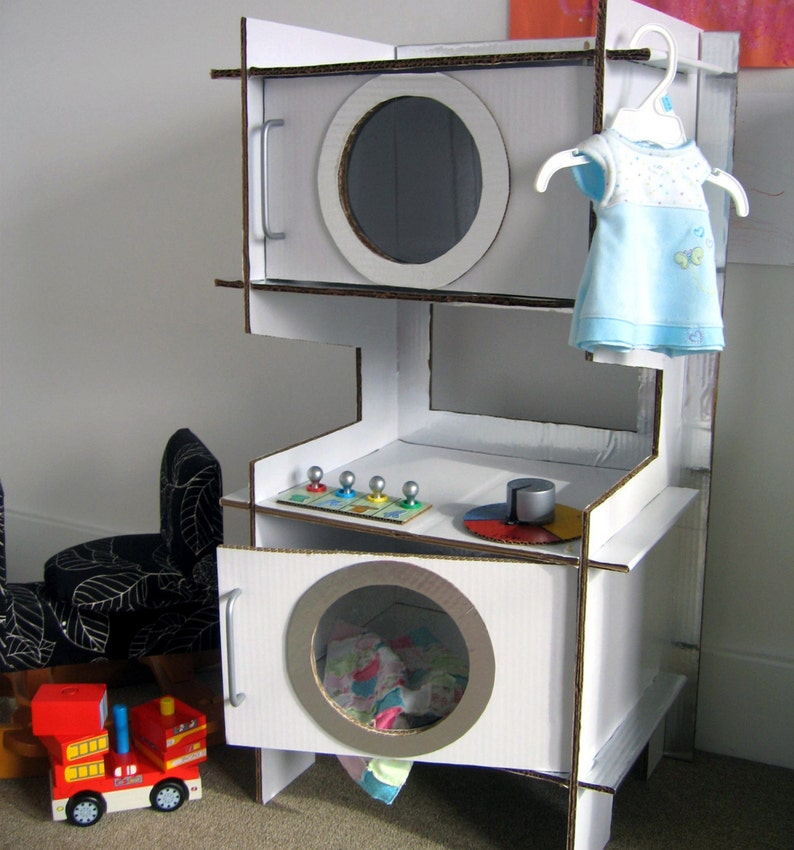 Build a Cardboard Play Washer and Dryer image 0