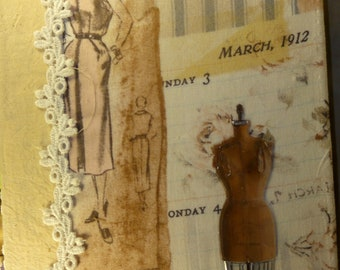 Junk Journal, Sewing theme