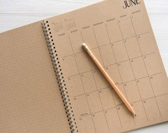 any year planner etsy