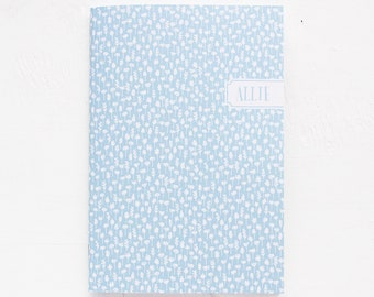 personalized notebook | dot grid, lined or blank | petite flowers pattern