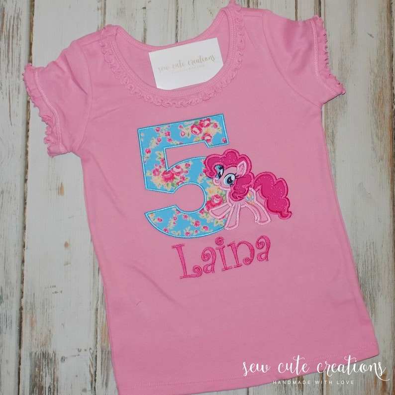 e5983e06 Pink Pony Birthday Shirt Pink Pony birthday outfit Pony | Etsy