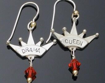 Drama Queen earrings