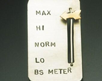 BS Meter pin