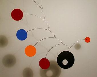 "Art Mobile i-Mod ML Hanging Home Decor Medium Custom Colors Modern Minimalistic Modernism 28"" x 30"""