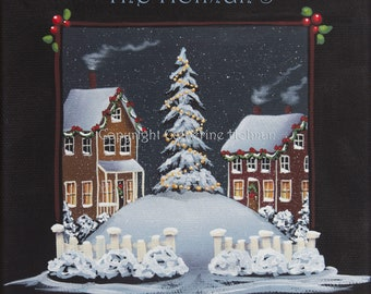 Personalized Christmas Print
