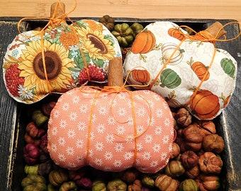 Thanksgiving Pumpkins  /  Autumn Bowl Fillers  /  Winter Decorations  /  Wreath Attachments