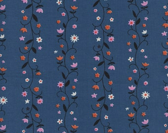 2YD Cotton Quilting Sewing Fabric Traditions Vintage Pedal Carts on Blue