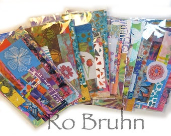 Mixed Media, collage paper kits