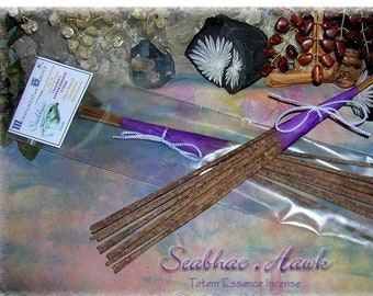 Seabhac HAWK Totem Ceremonial Stick Incense 12 pk