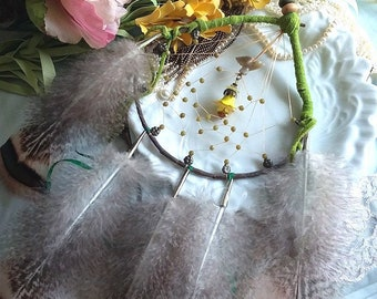 HUMMINGBIRD SPIRIT Snowshoe Dreamcatcher