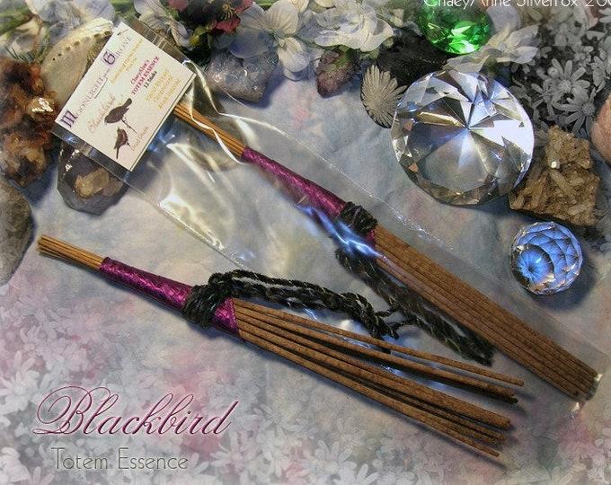 BLACKBIRD Totem Ceremonial Stick Incense 12 pk - SALE