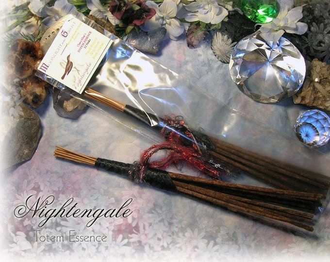 NIGHTENGALE Totem Ceremonial Stick Incense 12 pk - SALE