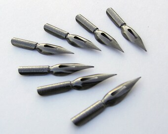 Eagle BULB POINT #830 Writing Point NIB - Dip & Feather Quill Pens