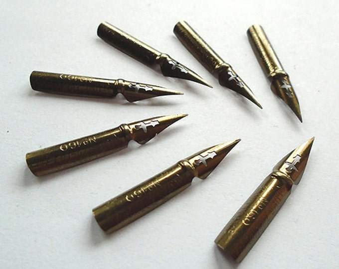Blanzy Conte Gilbert Plume Tremplin #160 Writing Point NIB - Dip & Feather Quill Pens