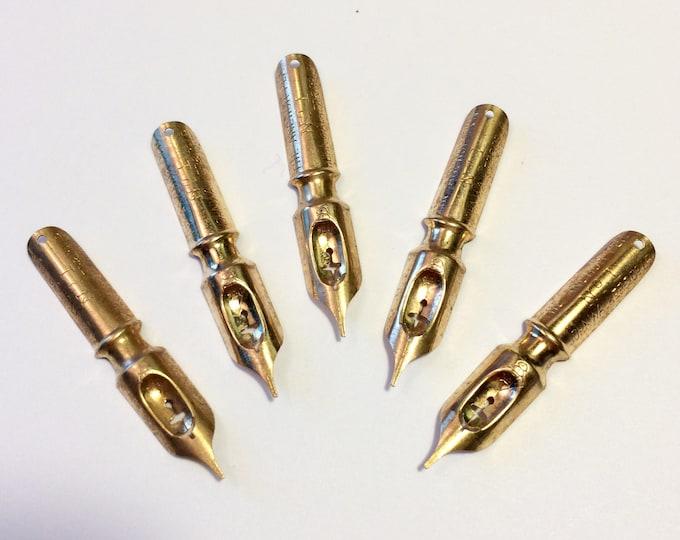 John Walker Plume Pluma Feder Anchor Pen #1 Writing Point NIB - Dip Pen & Feather Quill Pen