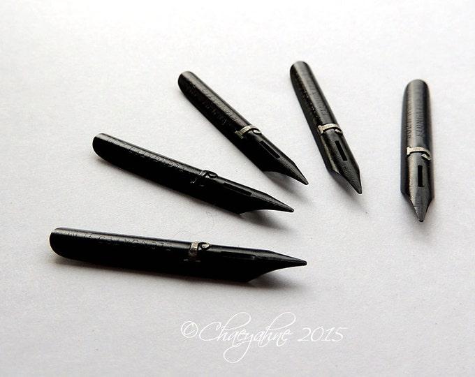 RARE John Heath's Elongated Writing Point NIB - Dip & Feather Quill Pens BCG