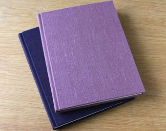 Large Hardcover Journal Notebook with Linen Covers